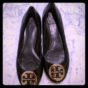 Tory Burch flats cute! Quilted